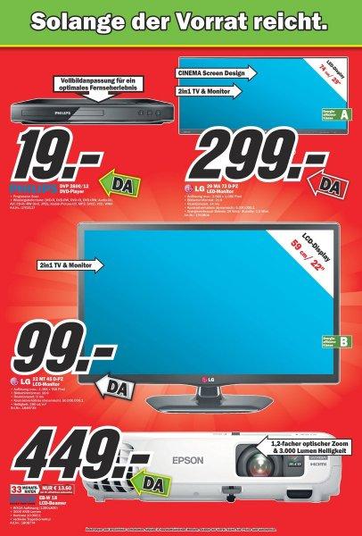 [Lokal: Düsseldorf] 22 Zoll TV Monitor für 99€
