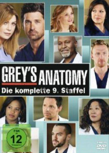 Grey's Anatomy Staffel 9 DVD bei Amazon