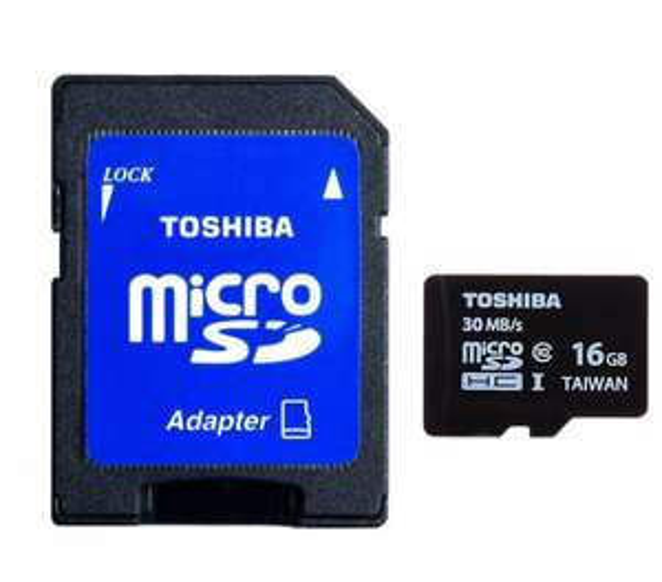 Toshiba 16GB MICRO SD MEMORY CARD CLASS 10 UHS-I 16 GB SPEICHERKARTE  @ebay  7,20€
