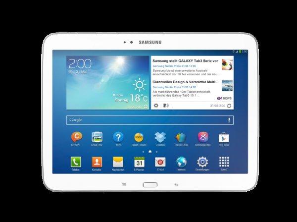 Samsung Galaxy TAB 3 10.1 für 180€ (Vergleichspreis 212€)
