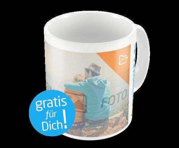 """""""Gratis"""" Kaffeebecher mit eigenem Foto gestalten (Versandkosten fallen an)"""