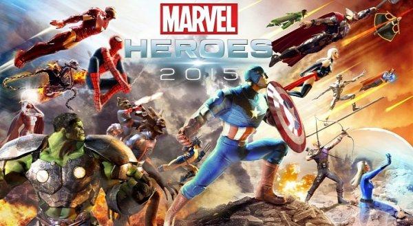 Marvel Heroes 2015 - Hero Box Codes