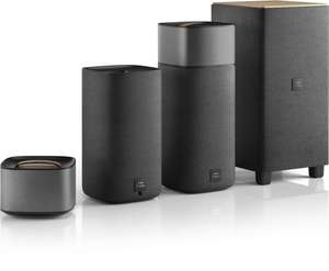 Philips Fidelio E5 4.1 Wireless-Surround-System (Subwoofer, Bluetooth aptX, NFC) für 565,50€ @Amazon.es