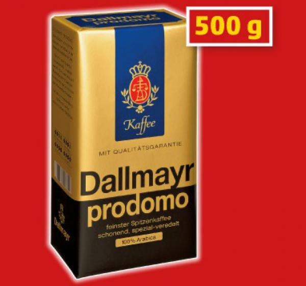 [Lokal Grenze Tschechien] Dallmayr Prodomo für 2,99 Euro + weitere Angebote bei TRAVEL FREE