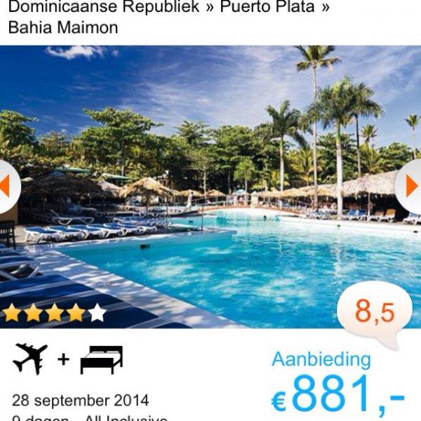 Dominikanische Republik: ClubHotel Riu Merengue All inkl. September 9 Tage oder 16 Tage für 1125€pP