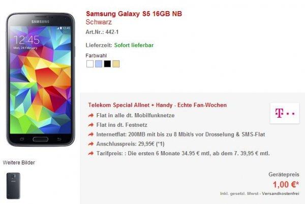 Telekom Complete Comfort S: 100 Freiminuten; SMS-Flat; 500MB LTE - eff. ca. 10€