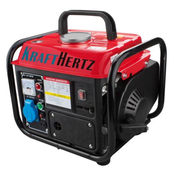 KRAFTHERTZ Benzin Power Strom-Generator 2,0 PS 850 Watt 69,99,- @Ebay