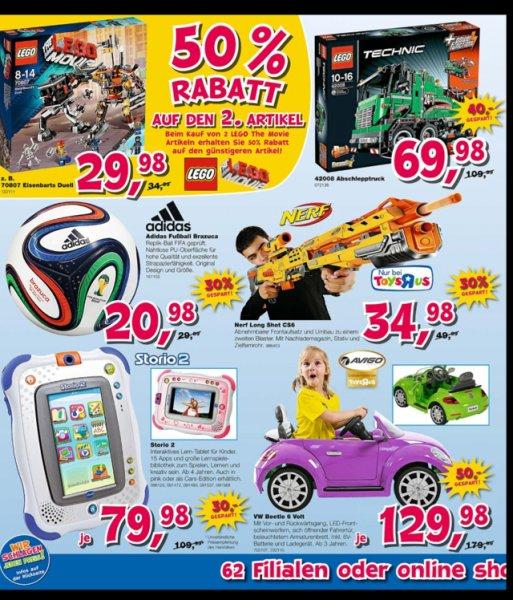 Lego Technicus 42008 Toys r us für 69,98€