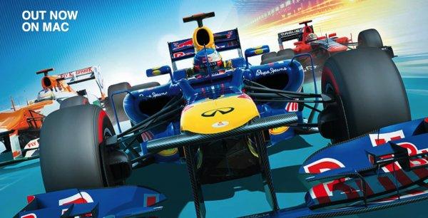 Formel 1 2012 Spiel für den Mac