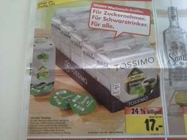 [Lokal] 5Packungen Tassimo für 17€ Kaufland Neckarsulm