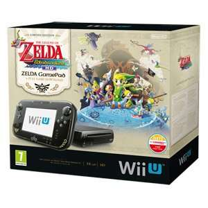 NUR NOCH HEUTE [Real.de] Nintendo Wii U Premium Pack inklusive The Legend of Zelda