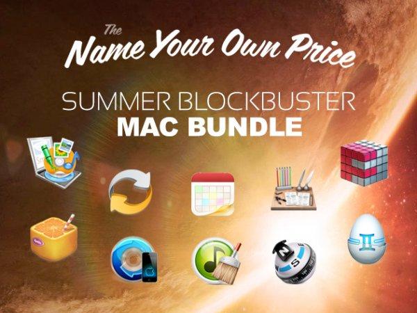 (MAC) 10 Apps im Summer Blockbuster Mac Bundle zum selbst bestimmten Preis (~8€ für alle) – Wert 400$