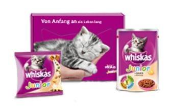 Whiskas Katzenbabybox gratis bestellen (NUR in Österreich KOSTENLOS) + 30% Gutschein für Fressnapf Filiale auf 101 Catsan Ultra plus