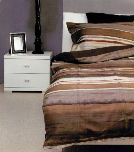 Bassetti Satin Bettwäsche 135/140 x 200 cm und 80 x 80 cm, 3 Modelle im DOPPEL-Set