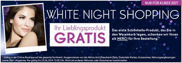Yves Rocher White Night Shopping: Erster Artikel gratis (ggf. +20% qipu möglich)
