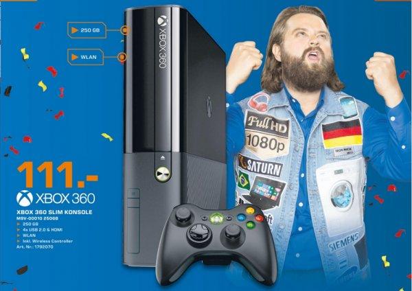 [Lokal Saturn Raum Frankfurt] Microsoft New Xbox 360 Slim E, 250GB 111 €