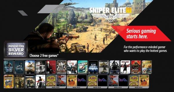 2 Kostenlose Spiele aus AMD Never Settle Silver Bundle @ Alienware, ab Juli! Mit Mailerinnerung!