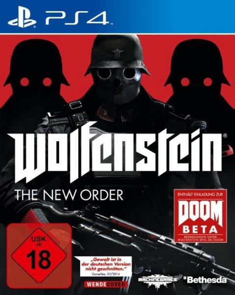 [AMAZON] Wolfenstein: The New Order (PS4/One) für 41,97 EUR und (360/PC/PS3) für 34,97 EUR zzgl. 5 EUR VSK