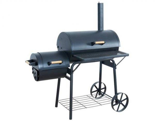 Smoker   El Fuego Holzkohlegrill Dakota @meinpaket  89,99€