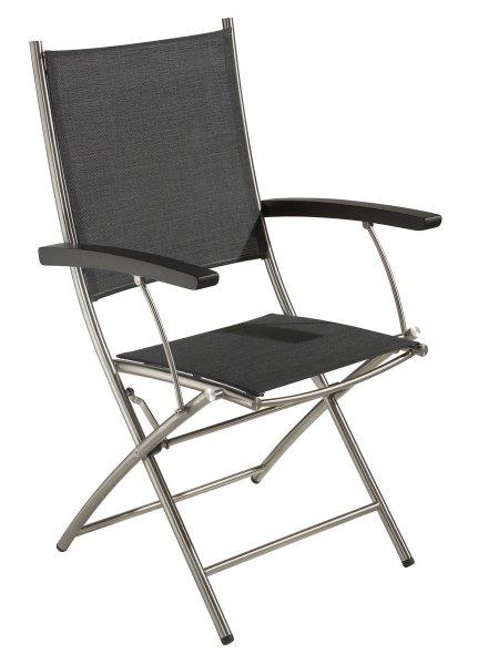 BRASIL Gartenmöbel Bistrotisch Stuhl Klappstuhl Edelstahl von BALKE NEU @Ebay Wochen Deal