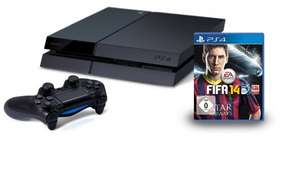 Playstation 4 (PS4) + Fifa14 nun auch bei Amazon für 419€ - ab 26.06.