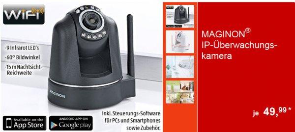 Aldi Süd ab 26.06.14 MAGINON® IP-Überwachungskamera, 640 x 480 Pixel, 90° vertikal und 270° horizontal