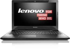 Lenovo Z50-70 39.6 cm (15,6 Zoll FHD TN) Notebook (Intel Core i5 4210U, 2.7GHz, 4GB RAM,Hybrid 500GB HDD(8GB SSD), NVIDIA GeForce 840M 2GB, DOS) schwarz
