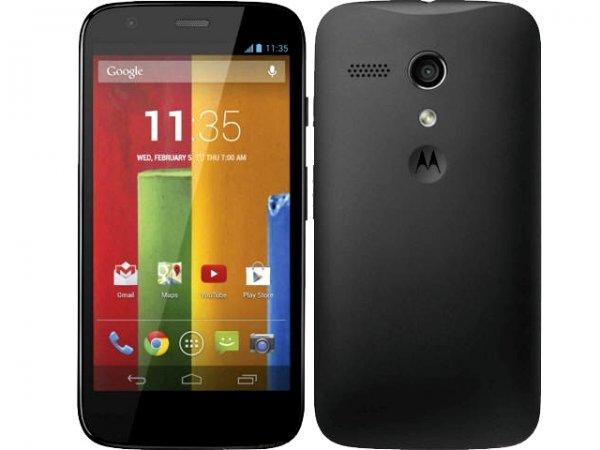 Motorola Moto G 8GB bei discoTEL für 139,00 € + 50 € Startguthaben