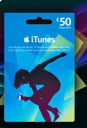 [MÜLLER] 50 Euro iTunes Karte für 40 Euro - NUR AM 29.07.11 - 20 % Rabatt