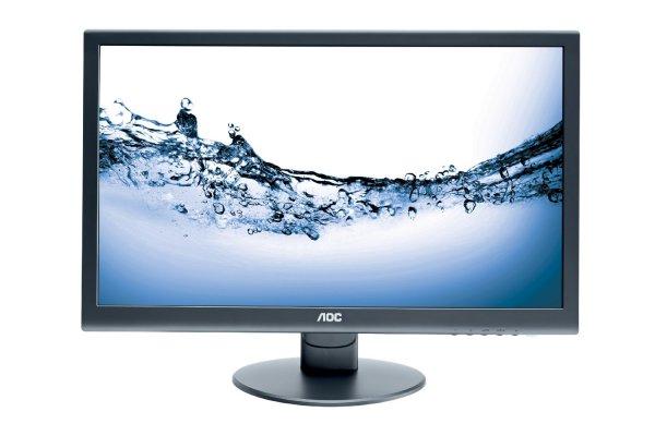 AOC E2752VA 68,6 cm (27 Zoll) LED-Monitor (VGA, DVI, 5ms Reaktionszeit) matt schwarz
