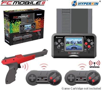 NES - FC Mobile II (2) / NES Handheld (PAL) + 2 Wireless Controller + Lightgun + Netzteil (NEU & OVP),Vergleichspreis: 54,99€