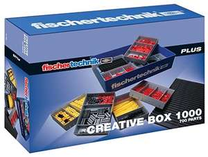"Fischertechnik PLUS 91082 ""Creative Box 1000"""