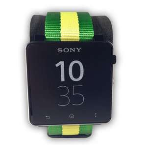 Sony Smart Watch 2 schwarz und Limited Brazil Armband nur 99 Euro
