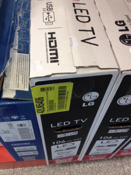 [Lokal Reinbek] LG 32LN5403 - 178€, LG 42LN5406 319€, LG 32LA6136 303€