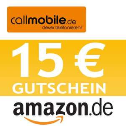 callmobile SIM-Karte + 15,00 EURO AMAZON Gutschein