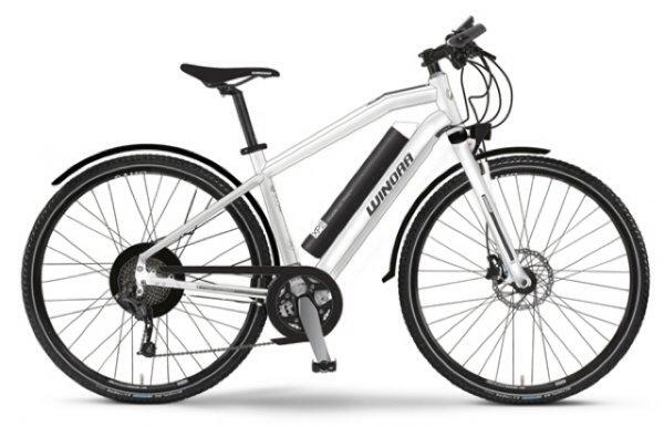"NEU WINORA Trekking Cross Elektro-Fahrrad E-Bike ""XP2? 374Wh 9-Gang Deore Mod. 2014"