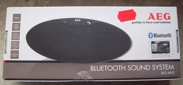 AEG BSS 4810 Freisprecher Bluetooth-Lautsprecher Kaufland Regensburg (Arcaden) Evtl. Bundesweit?