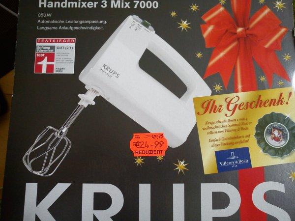 Krups Handmixer 3 Mix 7000 24,99 Euro Testsieger  [Kaufland Meiningen] vielleicht Bundesweit