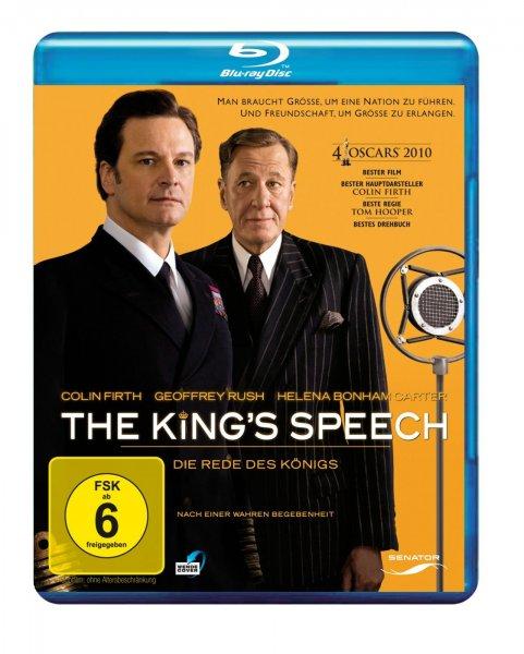 [Blu-ray] [Zustand: Wie neu] The King's Speech für 5,35 € (8 Stck. auf Lager),  Invictus - Unbezwungen für 5,14 € (7 Stck. auf Lager) u. From Paris with Love für 4,86 € (10 Stck. auf Lager) bei Prime-Versand @Amazon WHD