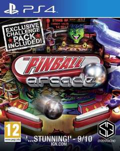Sony PS4 - The Pinball Arcade für €17,50 [@Zavvi.com]