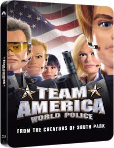 Blu-ray - Team America: World Police (Steelbook) für €8,75 [@Zavvi.com]