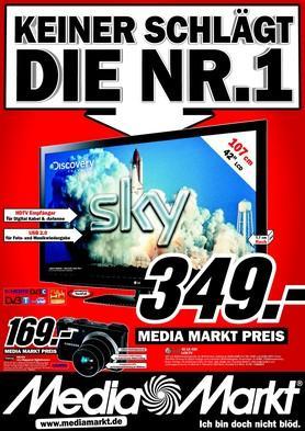 LG 42 LK 430 für 349€ im Media Markt Berlin