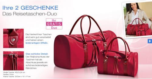 Gratis Reisetaschen Duo bei Dr. Pierre Ricaud MBW: 8€ + Duschgel - VSK Frei
