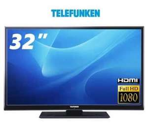 "[One.de] 32"" Telefunken L32F125N3C LED TV, Full HD, 100 Hz, Triple Tuner, Smart TV, Energieeffizienzklasse A für 199,99 €"