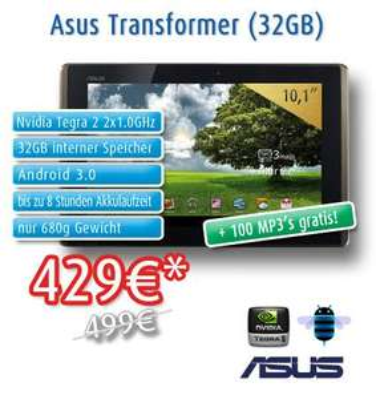 Asus Transformer 32 GB [notebook.de]