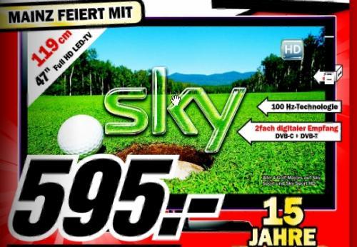 [lokal] LG 47 LE 5500 @ Media Markt Bischofsheim + Mainz
