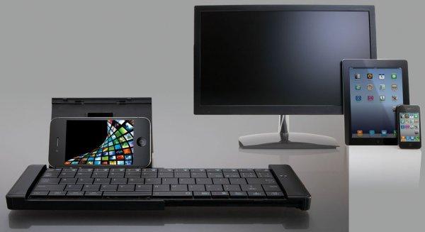 ELECOM Slider Bluetooth Tastatur - deutsches Layou