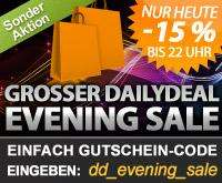 Dailydeal Evenig Sale - 15% auf alle Deals