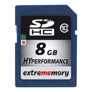 Extrememory HyPerformance 8GB SDHC Class10