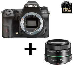 PENTAX K-3 + Objektiv smc DA 35mm @ Amazon.fr